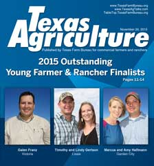 Texas Agriculture | November 20, 2015