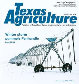 Texas Agriculture | January 15, 2016