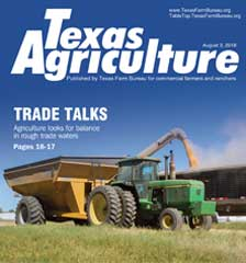 Texas Agriculture Publication | August 3,2018