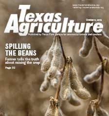 Texas Agriculture Publication | October 5,2018