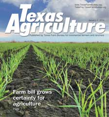 Texas Agriculture Publication | January 4, 2019