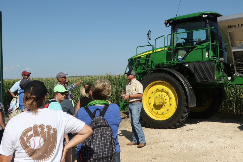 Know a teacher hungry for more information about agriculture? Encourage them to sign up for TFB's Summer Ag Institute. Applications are due April 18.