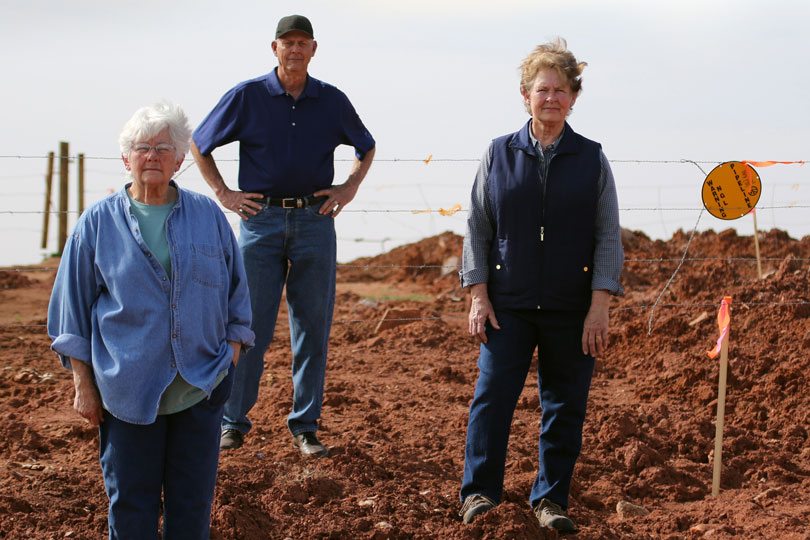 Eminent domain abuse is something Lynne and Bill Keys know all too well with four pipelines running through their family farm.