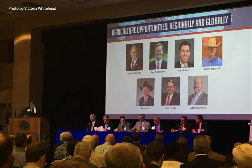 Trade and its impact on agriculture, energy and transportation was the focus of the West Texas Legislative Summit.