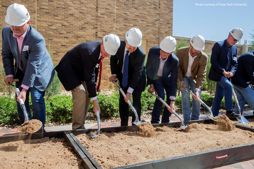 Texas Tech University and USDA broke ground last month on a new cotton classing facility on the university's campus.