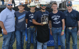 Smoke, barbecue and teamwork were on full display as students from across Texas participated in the first-ever World Food Championships High School BBQ competition on Oct. 20 in Dallas.